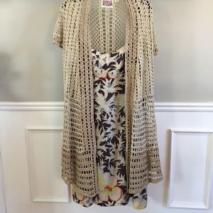 Anthropologie Dress and Sweater Set